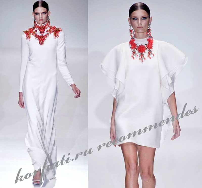 модные тенденции весна-лето 2013
