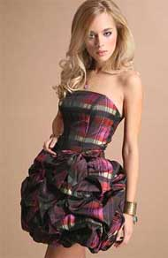 Выкройка платья-корсет - Цветок востока