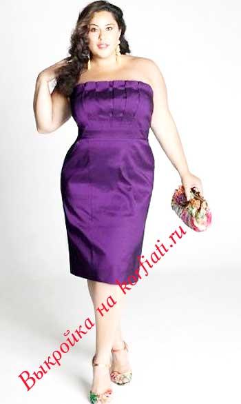 Шьем вечерние платья для пышных дам! Готовимся к Новому Году!