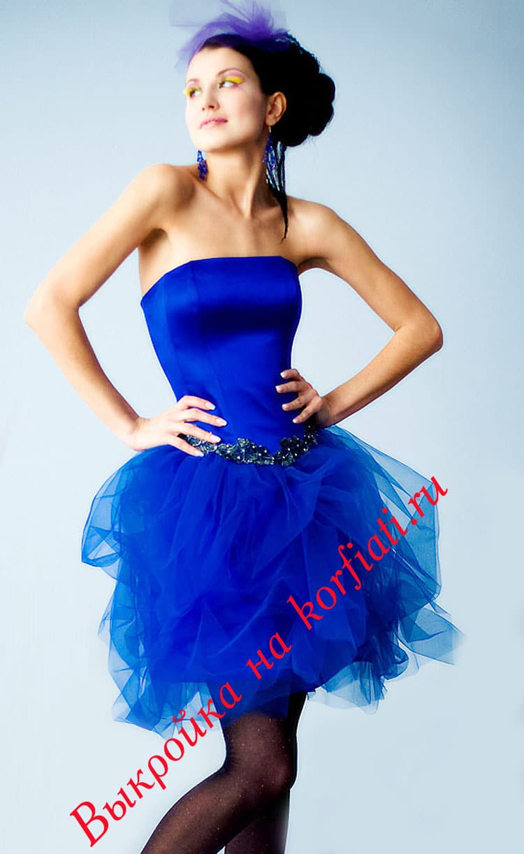 Модель: Платье с пышной юбкой