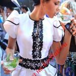 Выкройка платья с рукавами