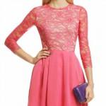 Платье с пышной юбкой - полусолнце