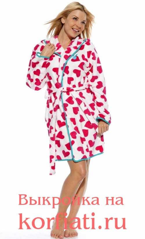 Halat-pattern Сшить халат без выкройки самостоятельно: 5 удобных моделей