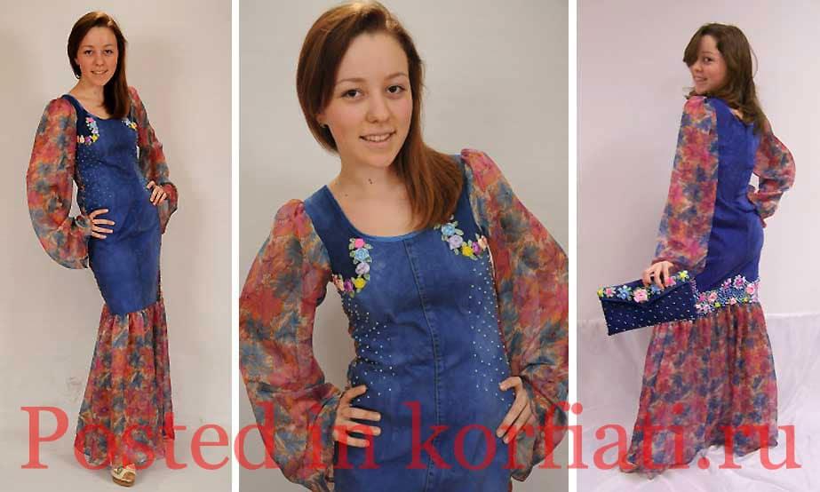 Хуснутдинова Лейсан платье цветочный коктейль