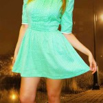 Морковкина Татьяна зеленое платье