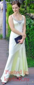 Нина Уварова длинное платье