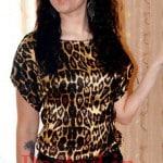 Старовойтова Екатерина леопардовое платье