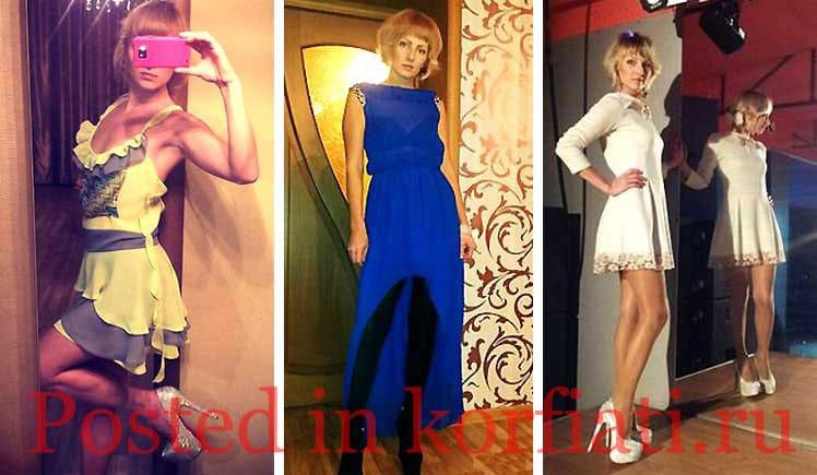Юлия Суетина три платья