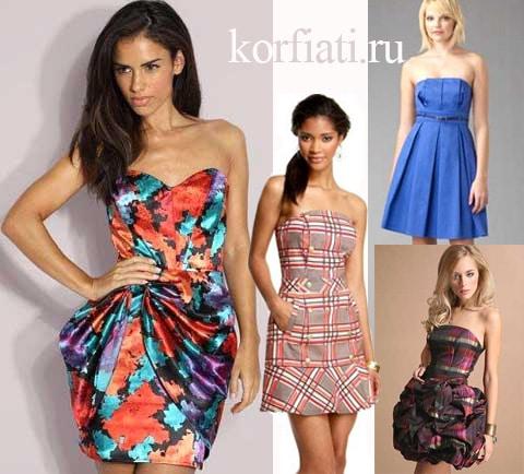 Выкройки 10-ти эффектных платьев