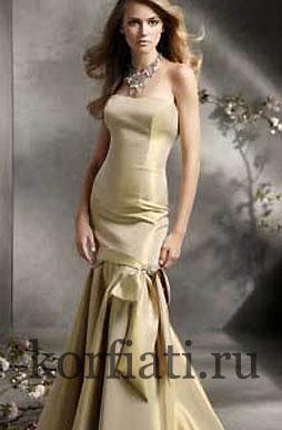 Выкройки летних платьев - платье годе