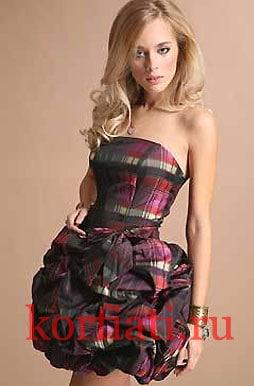 Выкройка платья мини