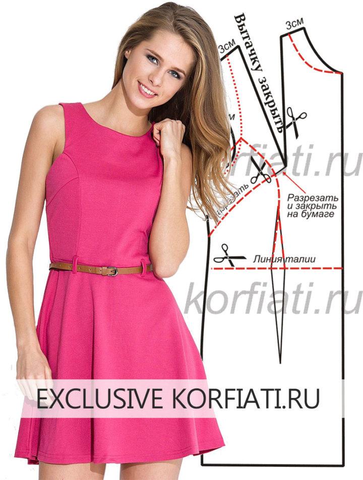Шьем платье своими руками - модель