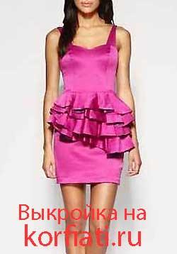 фото платьев с выкройками схемами