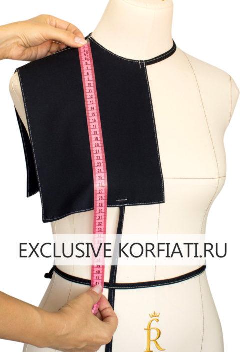 Снятие мерки ДТП при помощи плечевой накладки