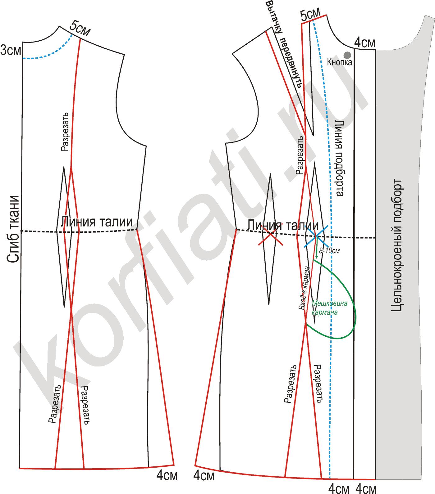 Моделирование выкроек пальто фото 518