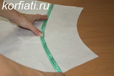Мастер-класс по шитью юбки-колокол. Конструирование выкройки