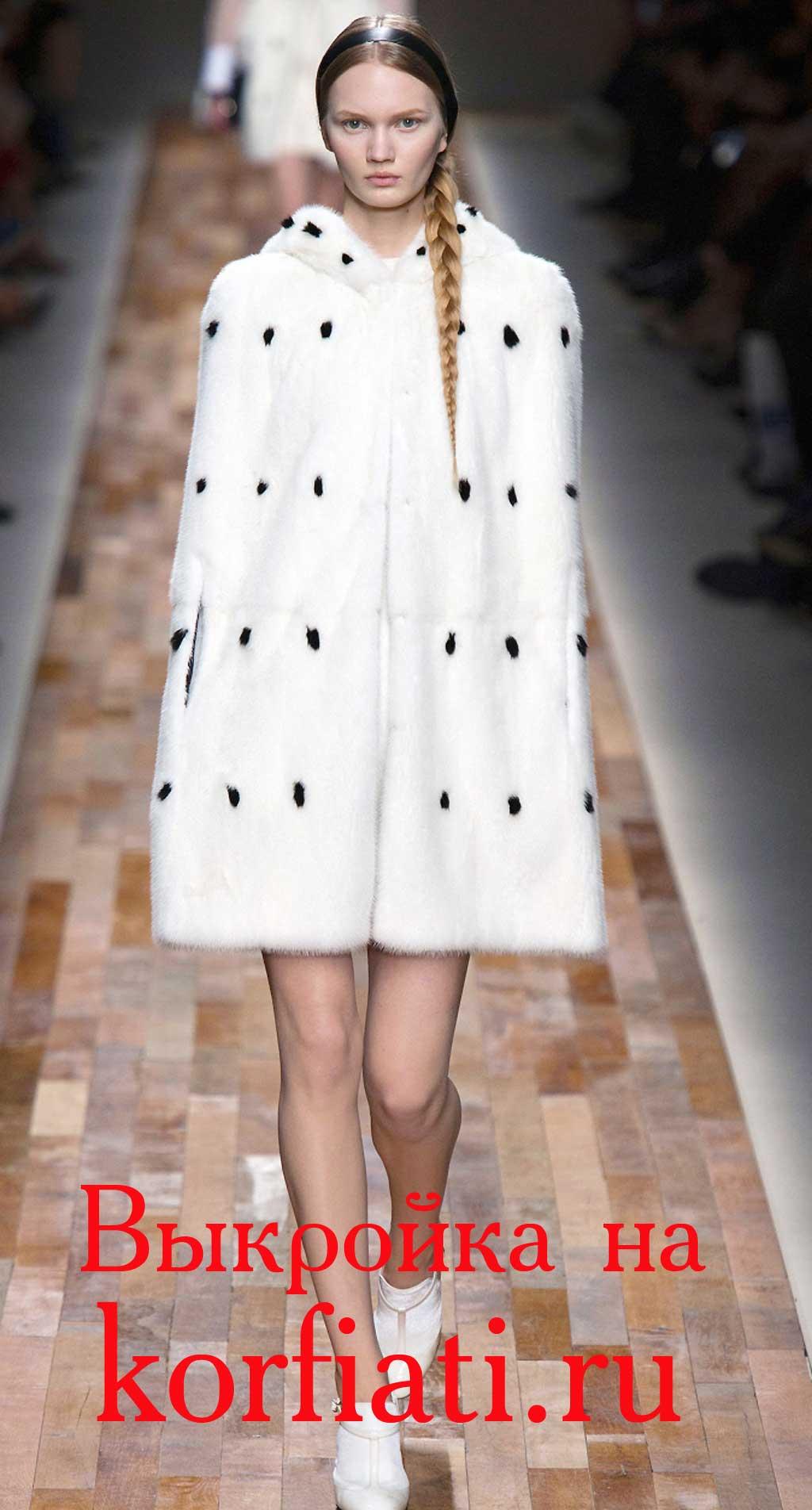 Накидка-пальто своими руками выкройка фото 6