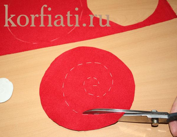 Как сделать ткань спиралью