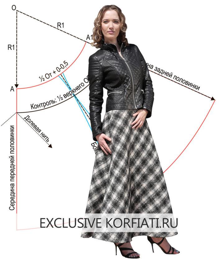 Мастер-класс по пошиву юбки-колоколм