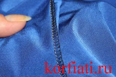 Мастер-класс по пошиву платья - обработка швов