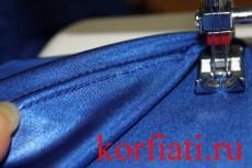 Мастер-класс по пошиву платья - обработка низа