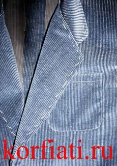 Накладной карман пиджака