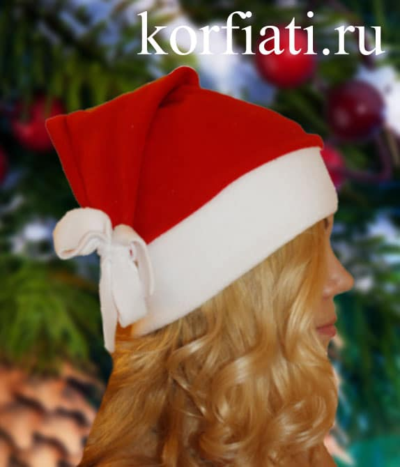 Новогодняя шапочка своими руками