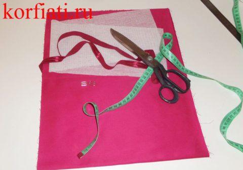 Как сшить галстук-бабочку - мастер-класс