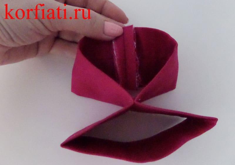 Бабочка галстук своими руками пошагово 210