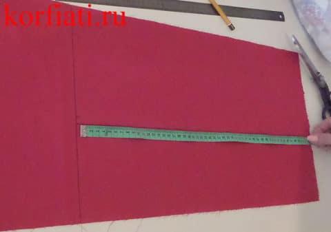 Как выкроить галстук-бабочку