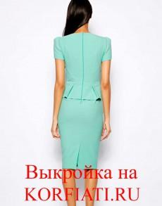Выкройки платьев своими руками