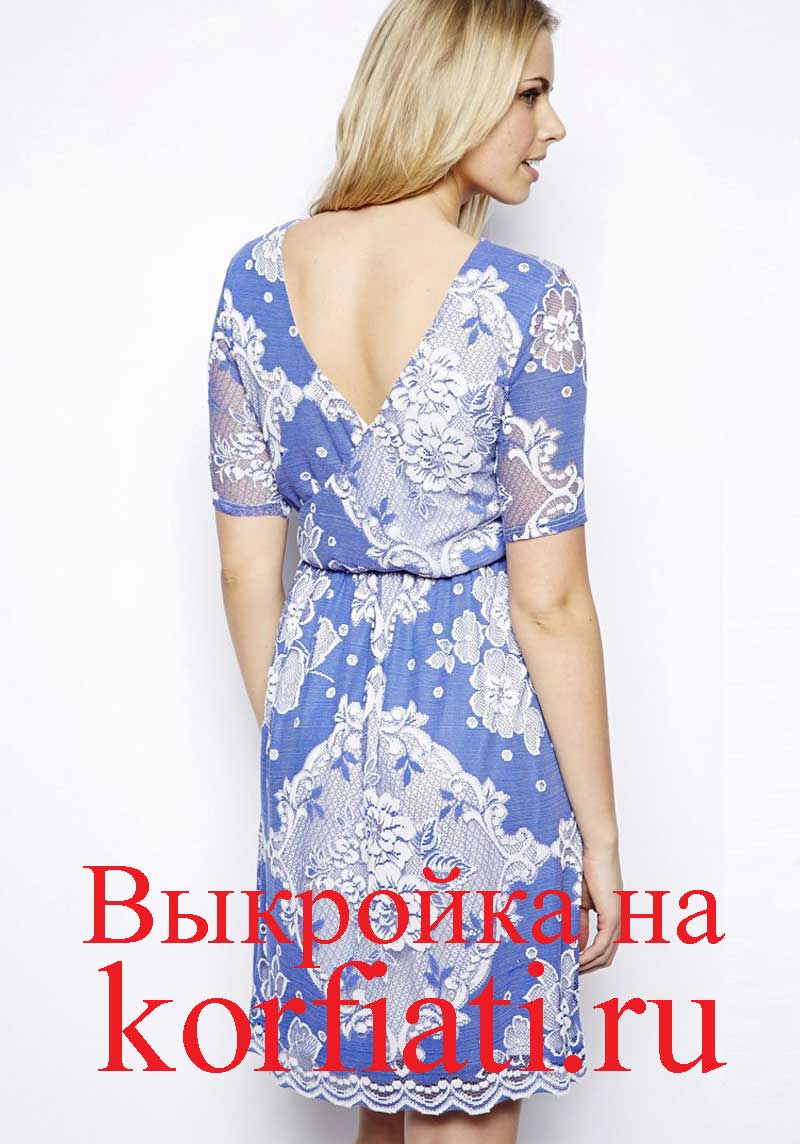 Платья и выкройки на беременных фото 173