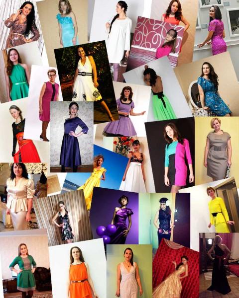 Конкурс платьев - голосование