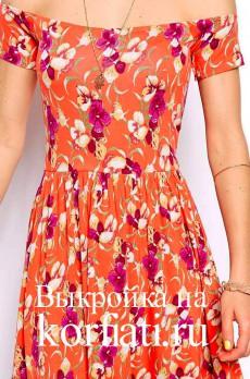 Платье для отпуска - лиф