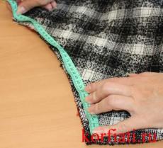 Юбка-колокол - мастер-класс по шитью