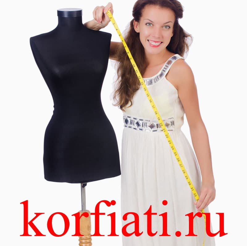 Выкройки приталенного платьица 44 размера