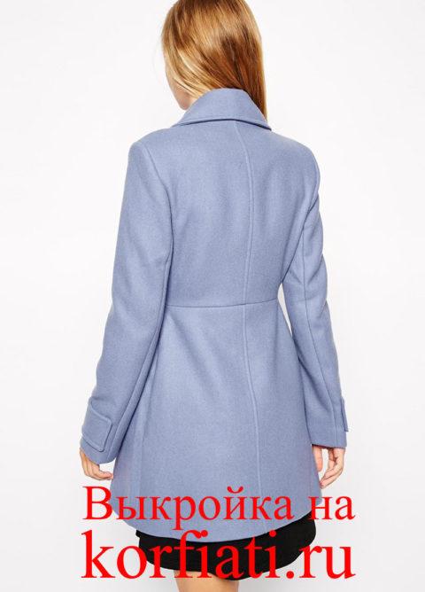 Узор-пальто-обратно