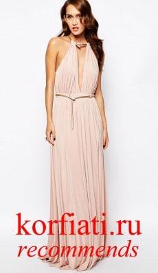 Платье на новый год 2015 - с декольте