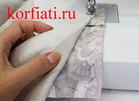 Прорезной карман в рамку мастер-класс - сострочить мешковины кармана