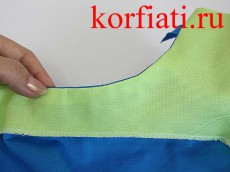 Обработка швов платья