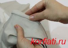 Как вшить двухшовный рукав