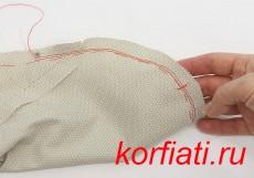 Как вшить рукав - подготовка оката