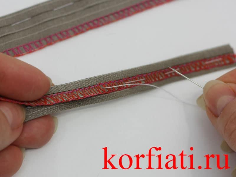 Как сшить шлевки