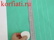 Уроки шитья - разметка складок