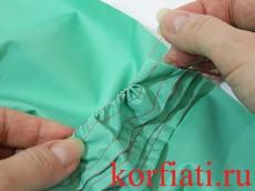 Уроки шитья - как выполнить складки