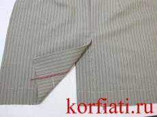Средний шов юбки