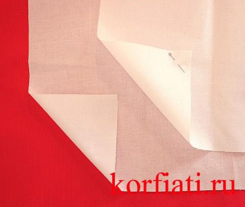 Воротничковый дублерин - тонкий и плотный