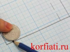 Обработка накладных карманов