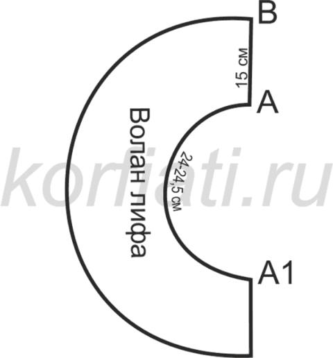 Моделирование волана лифа
