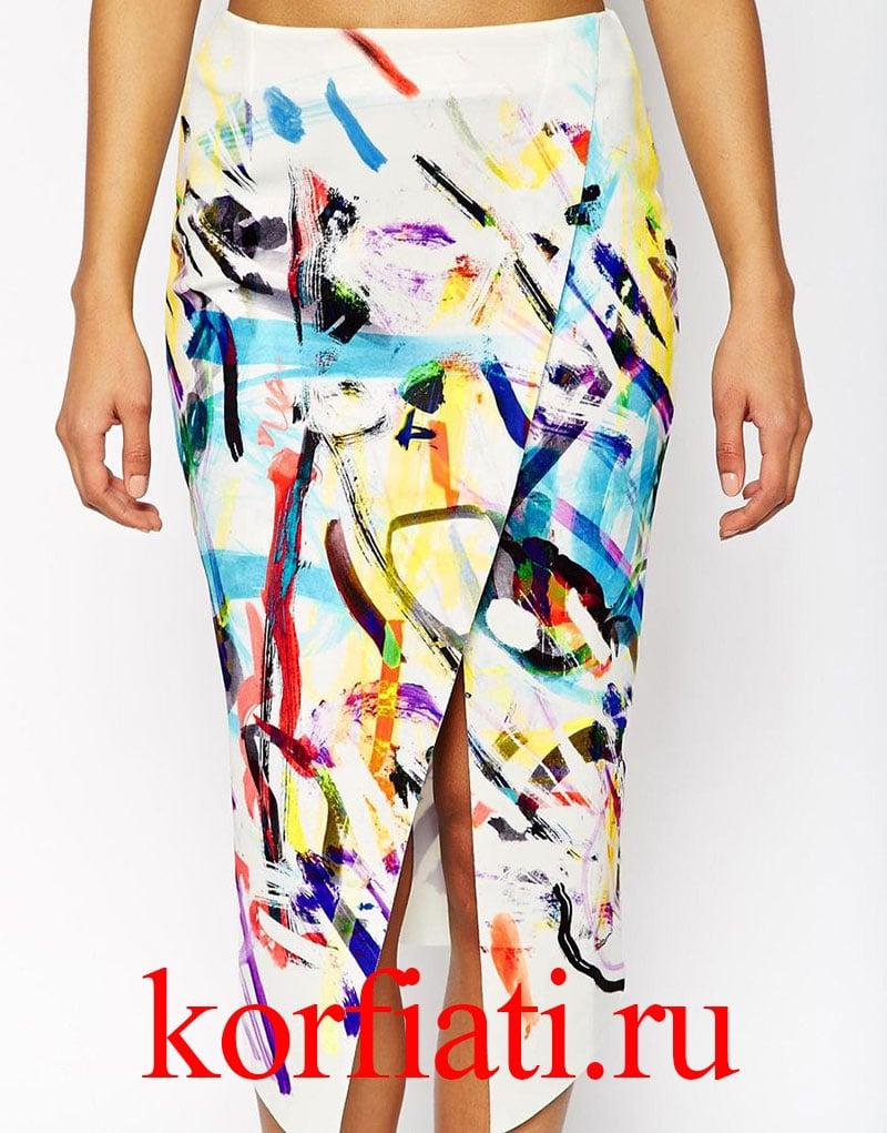 4e8ea5db04f Выкройка асимметричной юбки от Анастасии Корфиати